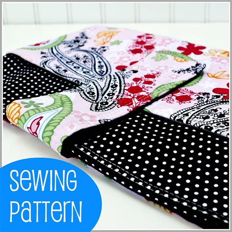 sewing pattern laptop bag pdf sewing pattern padded laptop sleeve with pocket