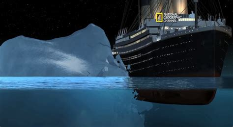 why did the titanic sink so how did the titanic sink data is reconstructed