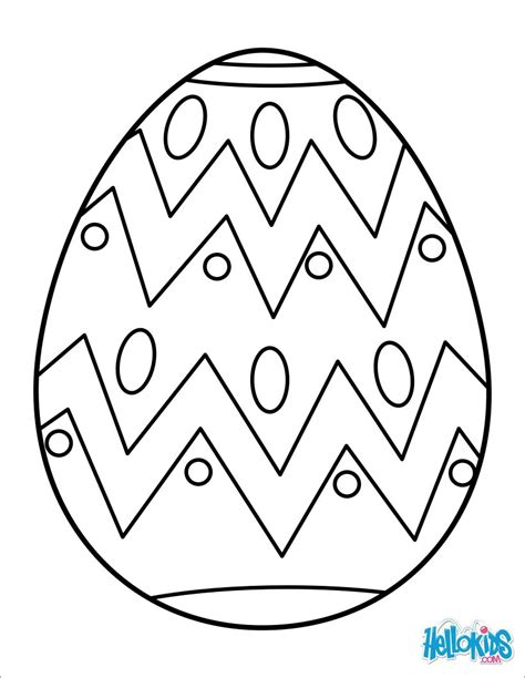 easter egg drawing clipart best