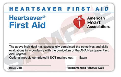 2016 Paper Cpr Card Template by Heartsaver Aid Cpr Northwest