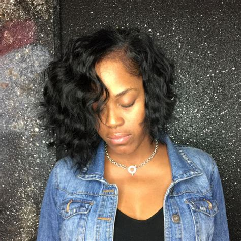 low maintenance sew in cute and choppy body wave bob sew in using my raw indian