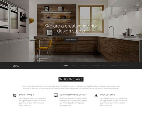 design studio templates 25 architect interior website design html templates