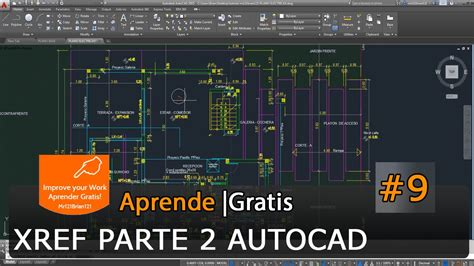 tutorial guide to autocad 2015 autocad 2015 tutorial basico starter 9 xref referencias