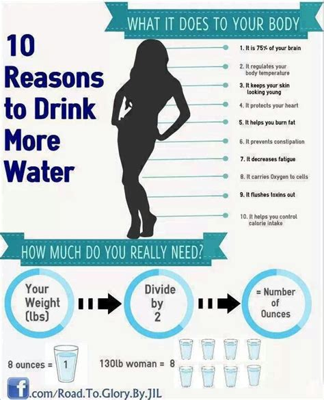why you should drink more water creative health ideas
