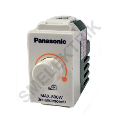 Saklar Dimmer Panasonic wej57515 panasonic nwide saklar dimmer 500w 220v sm elektrik