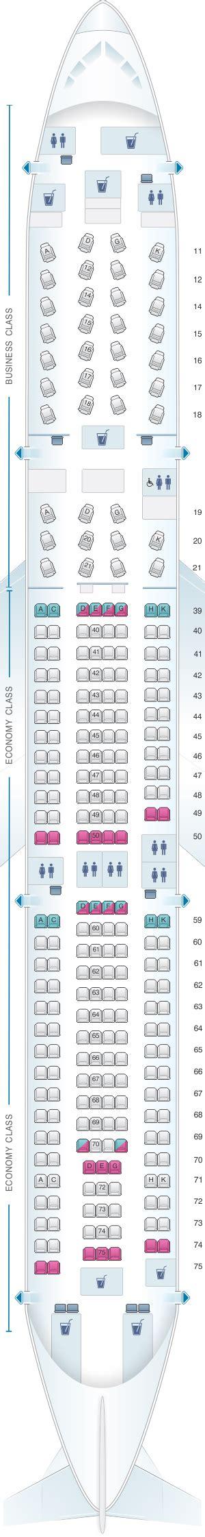 cathay pacific seat map seat map cathay pacific airways airbus a330 300 33e
