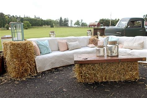 straw bale couch 25 best ideas about hay bale couch on pinterest rustic