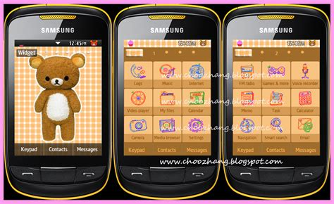 themes of samsung corby 2 choozhang corby cat samsung corby 2 or s3850 cutesy