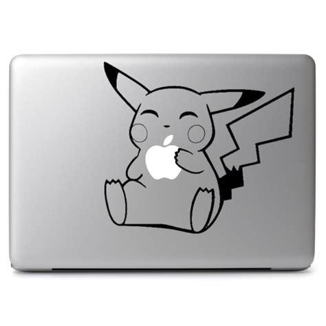 Apple Mac Book 13 Decal Anime Geisha pikachu apple when fit glowing apple logo apple macbook air pro 11 quot 13 quot 15