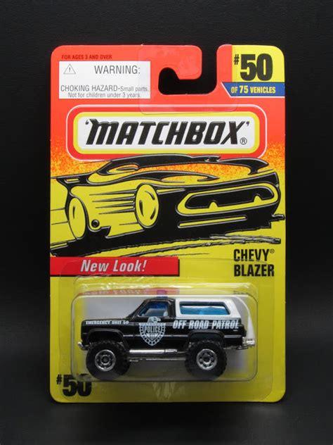 Matchbox 75 Chevy 1 diecast hobbist 1997 matchbox 1 75 series mb50 mb129 chevy blazer