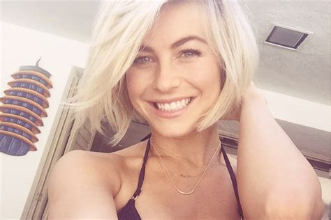blonde short hair cut on dancing with the stars grocery girl s guide to glossy hair julianne hough