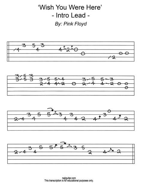 ukulele tutorial wish you were here wish you were here intro tab chords wroc awski