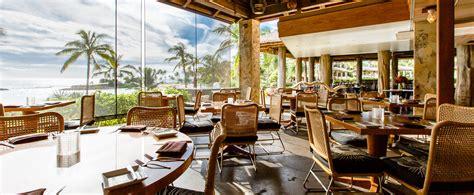 Window Treatments Dining Room amaama hawaiian cuisine restaurant aulani hawaii resort