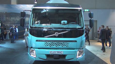 volvo electric truck 2019 volvo fe electric dustcart truck 2019 exterior and