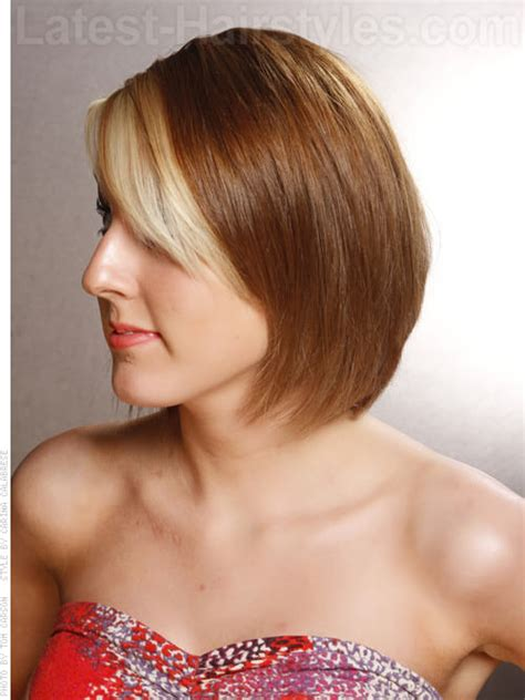 back glimpses of short haircuts top 10 bob hairstyles to beautify round faces