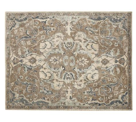 Pottery Barn Rugs Nolan Persian Style Rug Neutral Pottery Barn