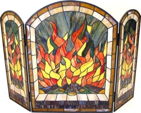 fireplace screen stained glass 40 best images about stain glass on diana