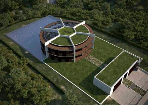 Maison De Lionel Messi Interieur by Provided Sustainable Eco House In The Form Of Football For