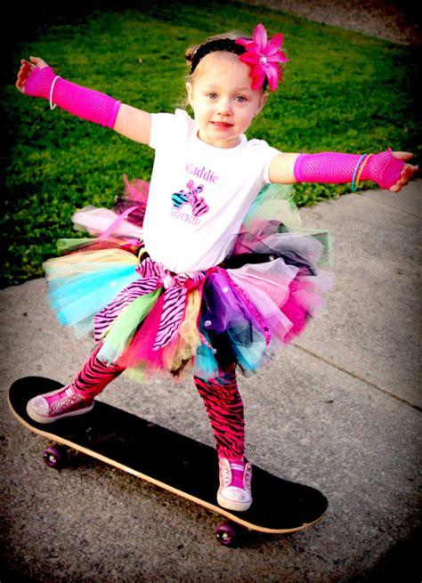 Set Rok Gotik Tutu pink black white baby tutus toddler tutus skirts