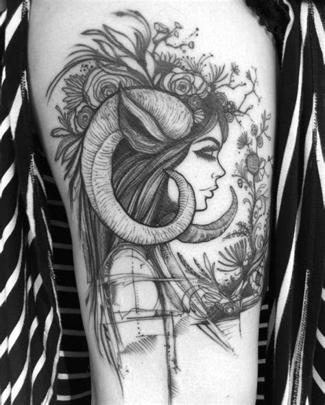 tattoo designs for aries woman aries on