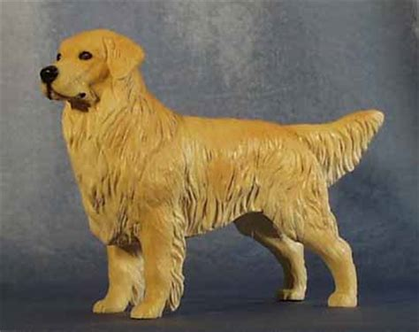 golden retriever figurine golden retriever statues sculptures figurines bookends mantle clocks