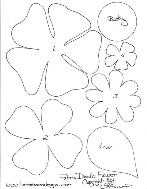 flower template for coloring printable flower templates coloring home