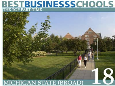 Broad Mba Tuition by The Top Part Time Business Schools