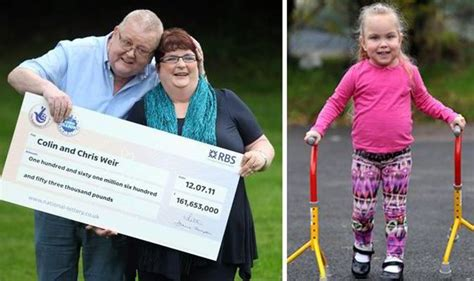 Donation Letter From Britain S Richest Euromillions Winners 4 Walks For The Time After Lottery Winners Give 163 28 000 For Surgery Uk News