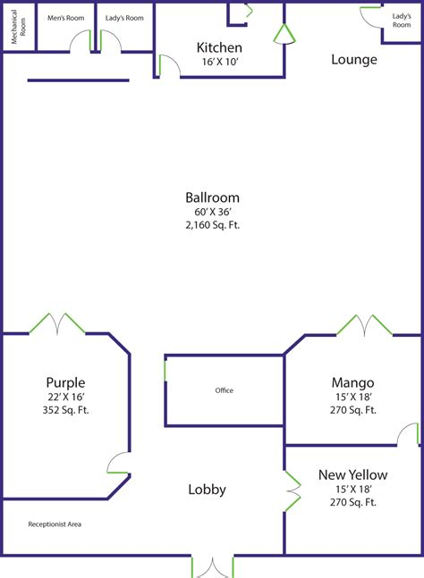 Dance Floor Plan | rent rigby s jig dance studio for your next wedding or event