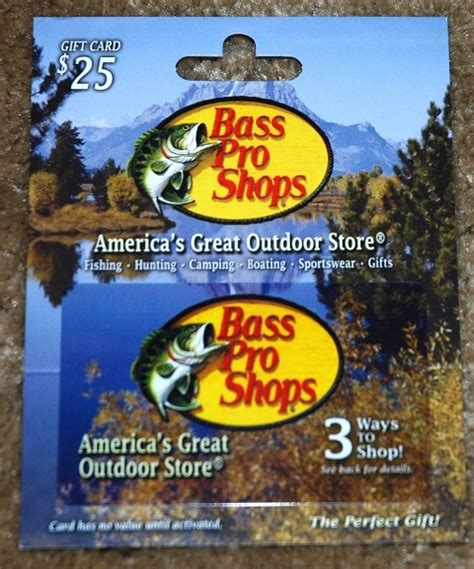 Where Can I Use A Bass Pro Gift Card - great gifts for dad bass pro shops