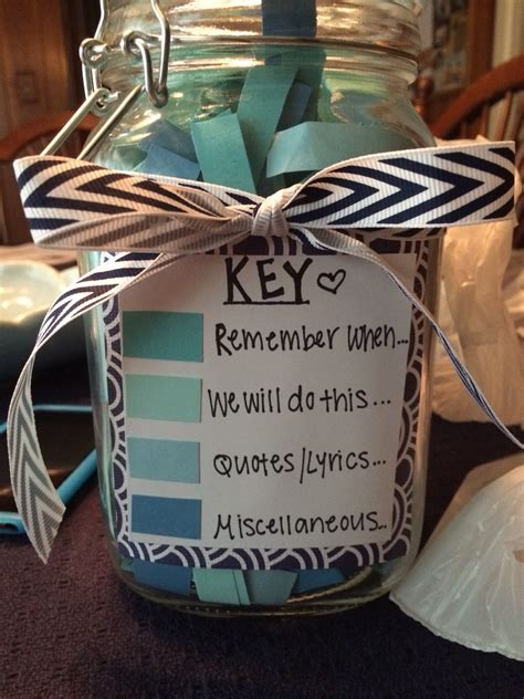 gift for your boyfriend 365 note jar craft ideas jars jar and note