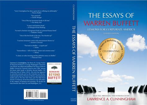 essays of warren buffet essays of warren buffett fourth edition is out