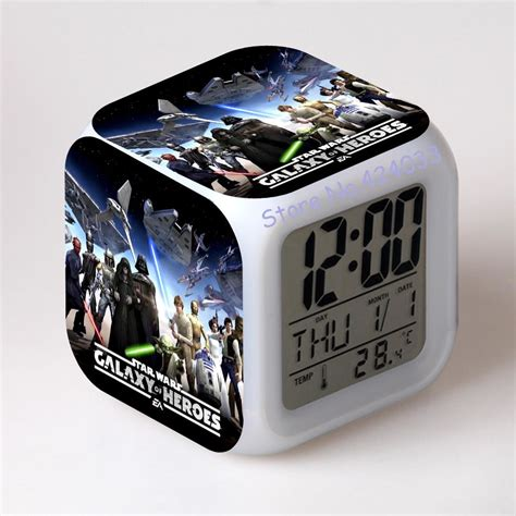 Wars L With Alarm Clock by Aliexpress Buy Wars Alarm Clocks Digital