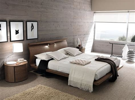 modern wall for bedroom three unique headboard ideas