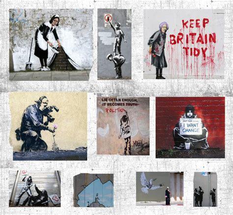banksy art breaks the wall to wall new york paris helsinki resident