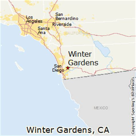 best places to live in winter gardens california