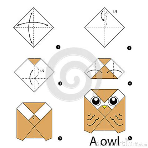 Origami Owl Step By Step - step by step how to make origami owl stock