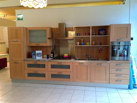 scic cucine outlet cucina scic portorotondo moderna legno rovere chiaro