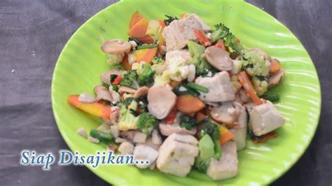cara membuat tempe bacem untuk diet menu diet cara membuat capcay tahu sayur untuk diet 1