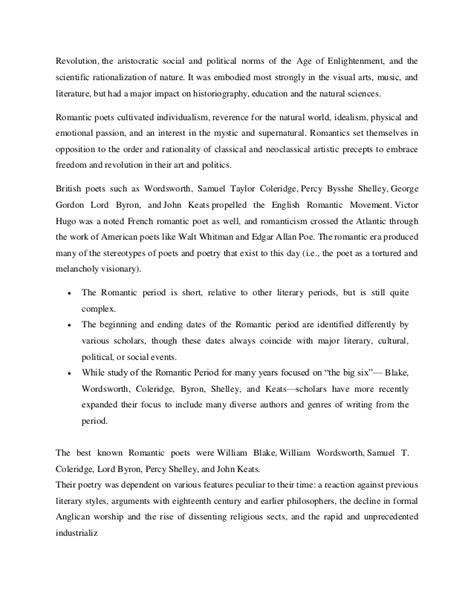 Romanticism Essay by Essays On Romanticism Romanticism Romanticism Essay Introduction Romanticism Essay Essays On