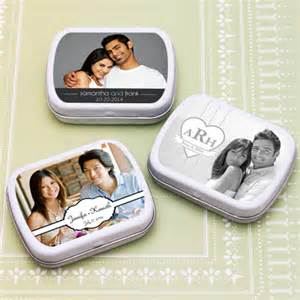Mint Tin Wedding Favors by Personalized Photo Wedding Mint Tin Favors Personalized