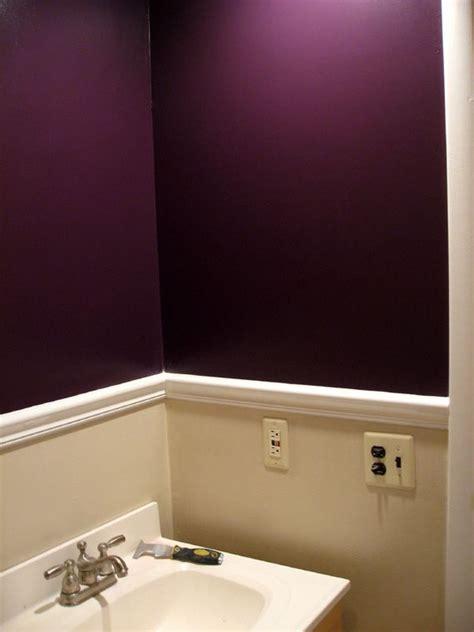 Purple Paint Colors For Bathrooms by 25 Best Ideas About Plum Walls On Purple