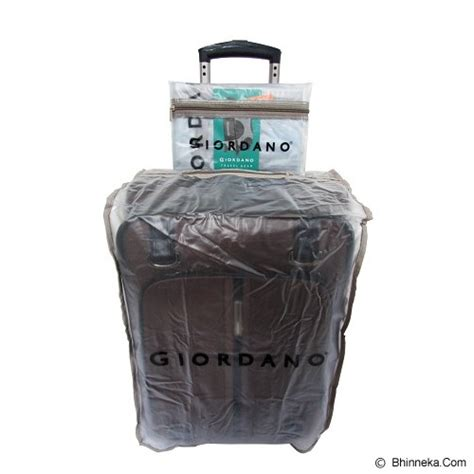 Dust Polos Berkualitas by Jual Giordano Luggage Cover Protection 22 Inch Clear