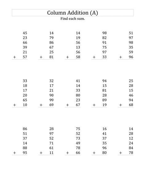 printable maths worksheets year 10 maths worksheet 10 year old homeschool math free