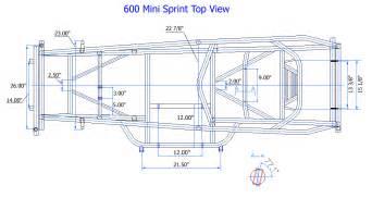 new race co mini sprint chassis mini 600 x ebay