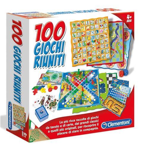 gioco da tavolo 100 giochi riuniti novit 224 2011 clementoni giochi da tavolo