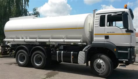 how is a truck german supplier for water tank trucks