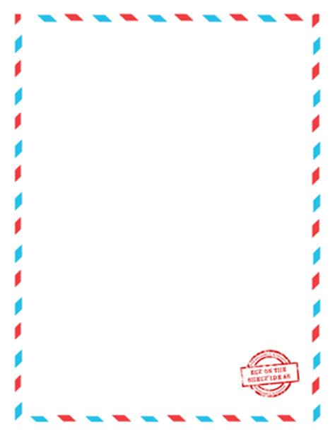 elf on the shelf blank printable letter 8 best images of printable blank letter template letter