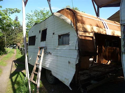 rv house diy recycling old rv trailers for tiny house treasures