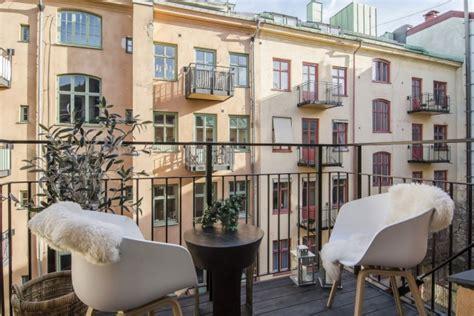 Skandinavischer Stil In Einer Kleinen Wohnung In Stockholm